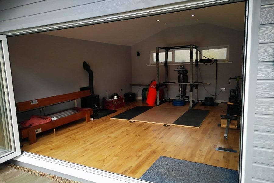 garage gym idea