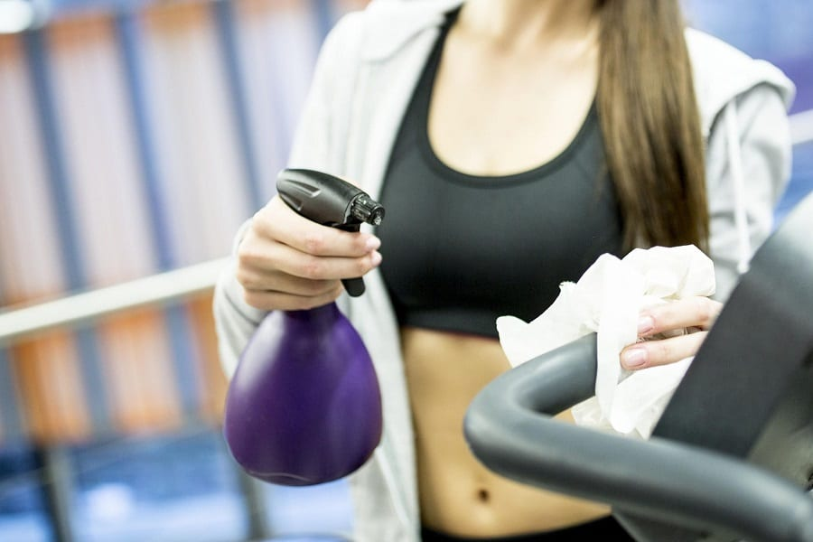 How To Clean And Disinfect Your Home Gym?