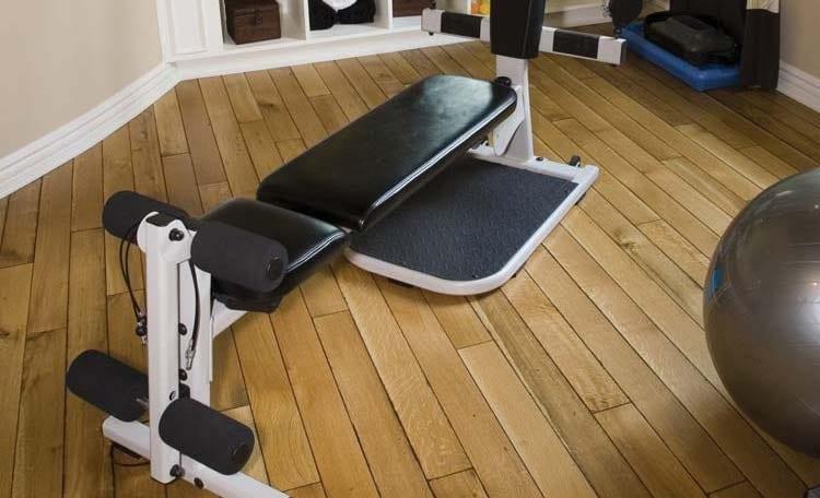 Home Gym Wooden Floor