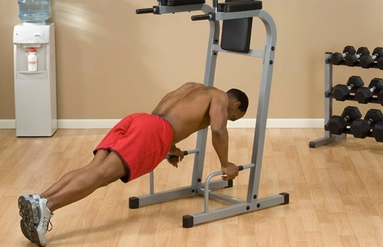 triceps dips assisted