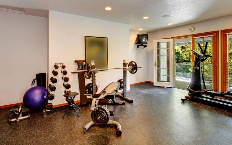 ihome gym interior