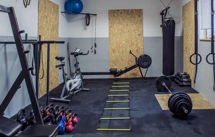 walls for garage gym