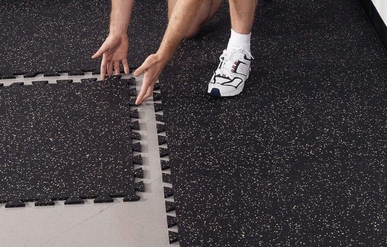 assembling floor mats