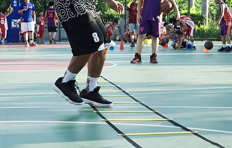 training with agility ladders