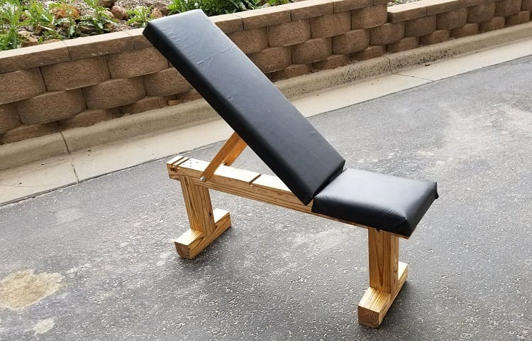 weight bench made of wood