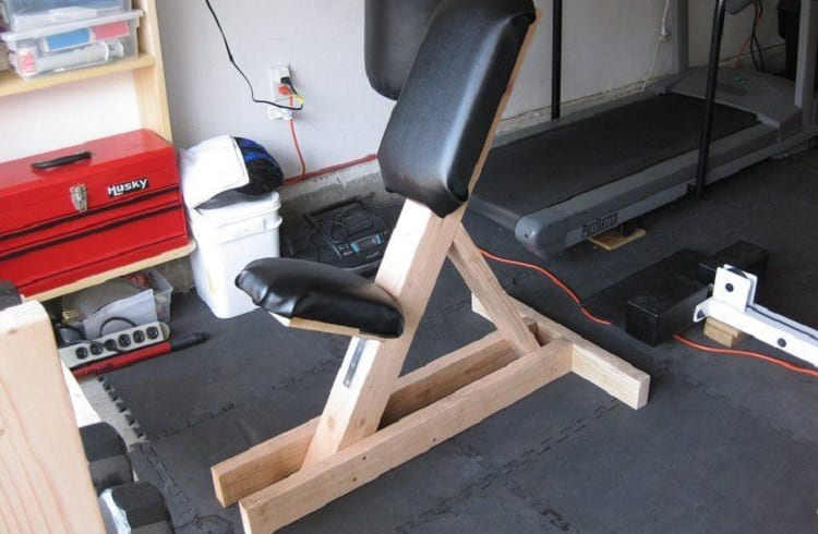 finished weight bench