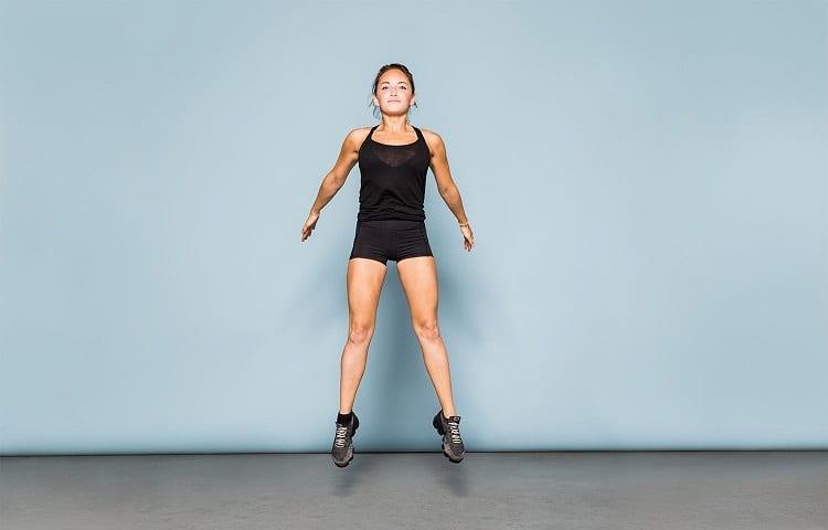 proper jump squat