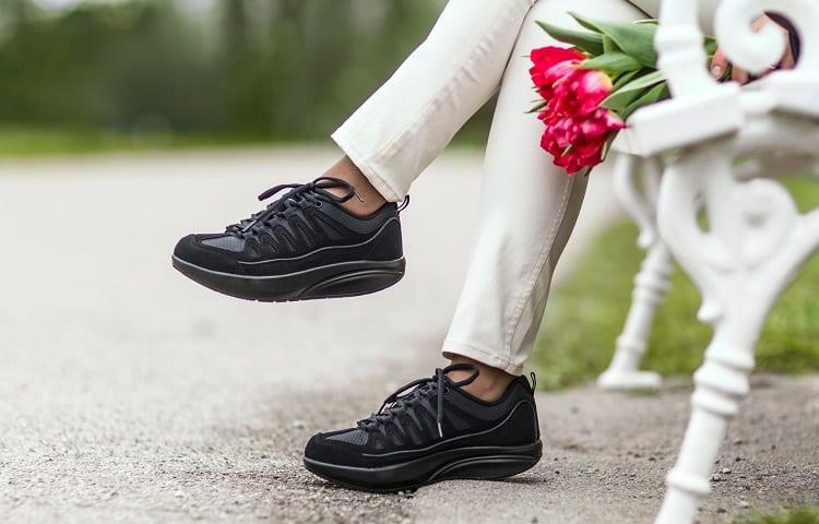 wearing shape up shoes