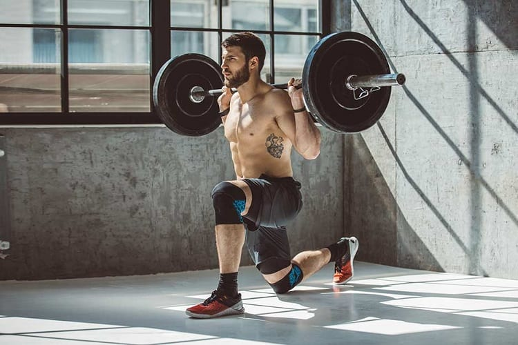 Importance of barbell lunges workout