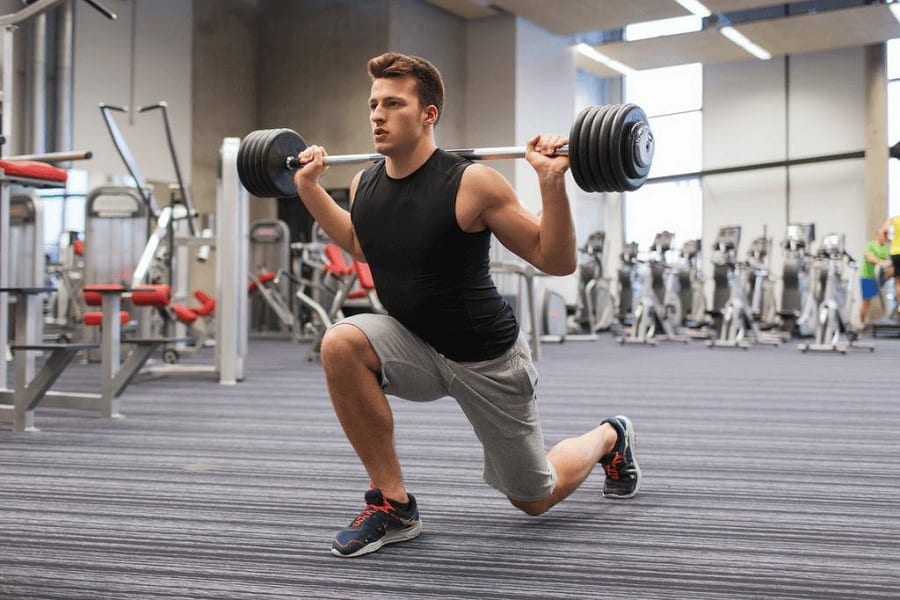 How To Do Barbell Lunges