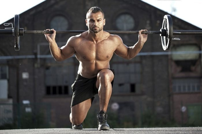 How often should you train to learn the trick of barbell lunges?