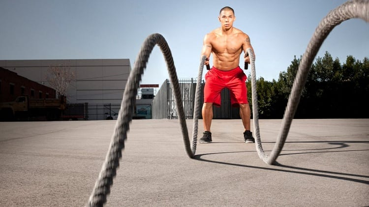 HOW LONG SHOULD A BATTLE ROPE WORKOUT BE?