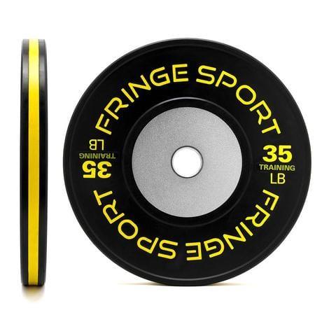 fringe sport bumper plates