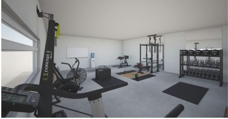 home PT studio set-up