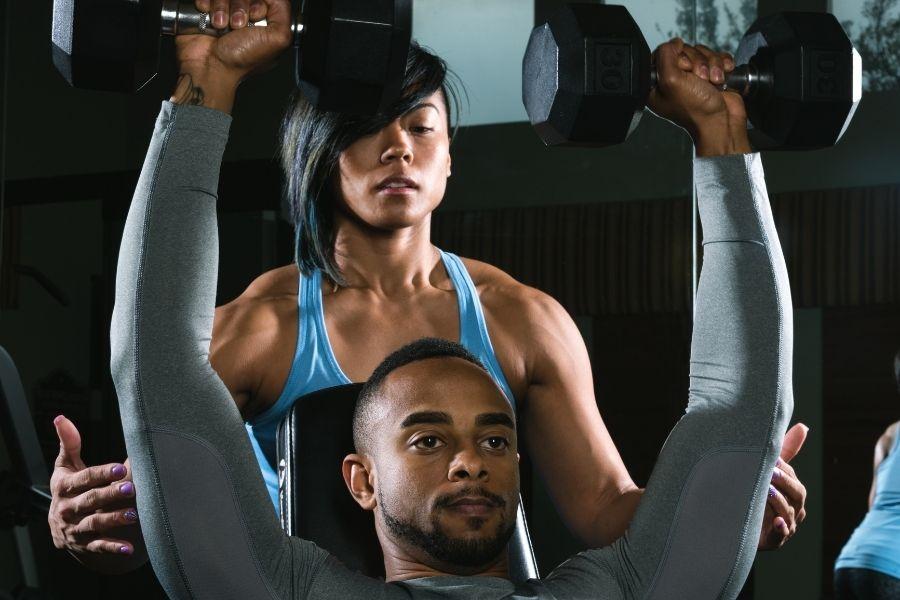 home gym train clients