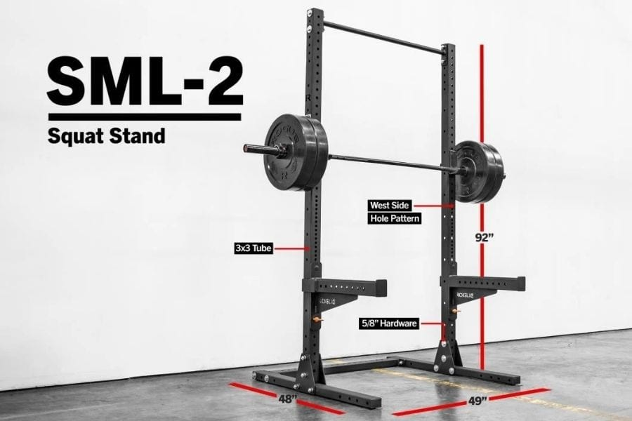 rogue sml-2 squat stand