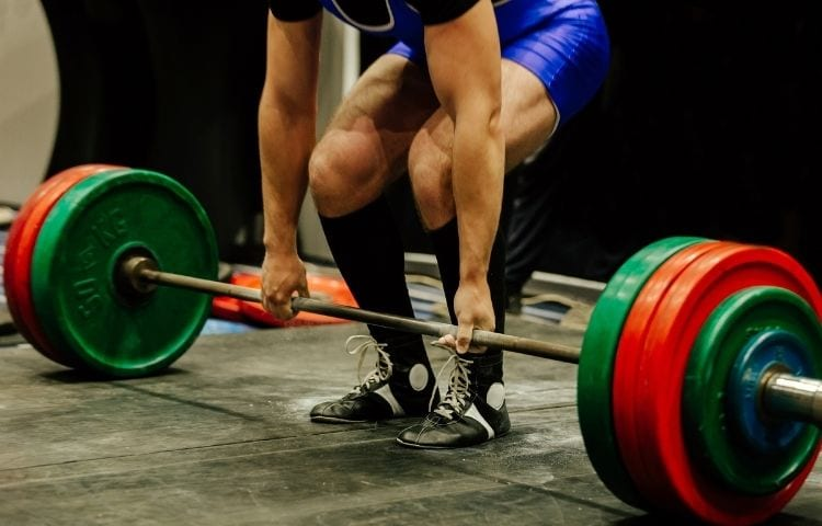 deadlift platform home gym
