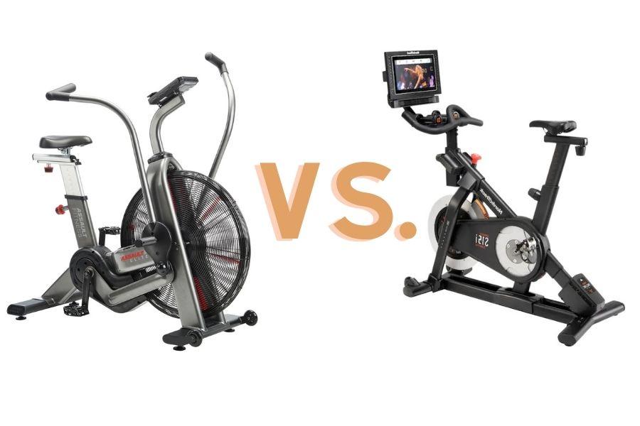 air bike vs. spin bike