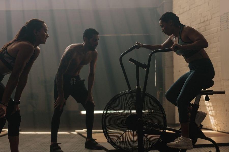 air bike workout