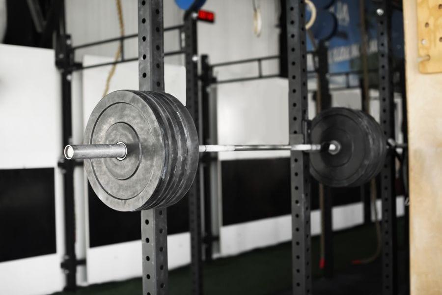 home gym squat rack