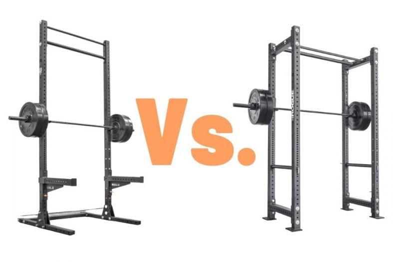 half rack vs full rack
