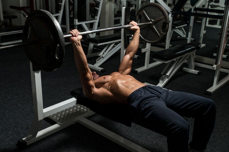 bench press bodyweight