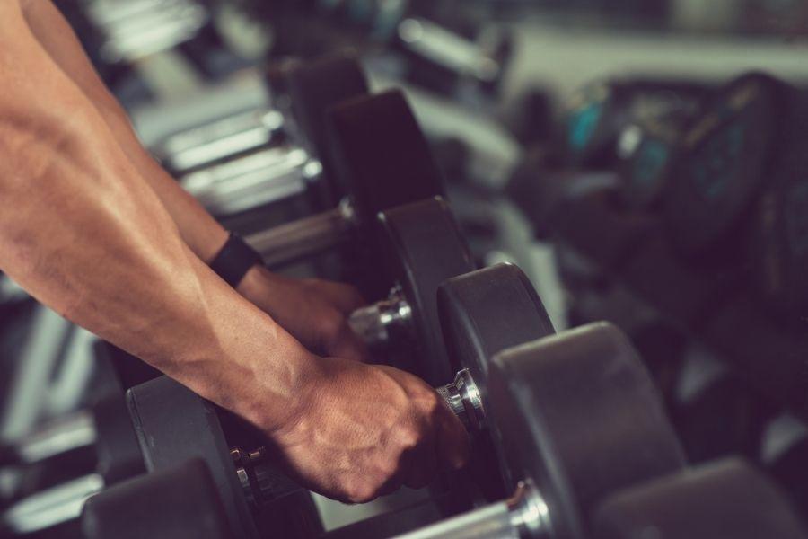dumbbell home gym