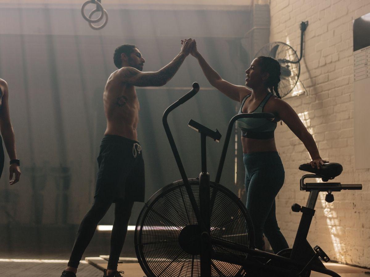 best air bike workouts